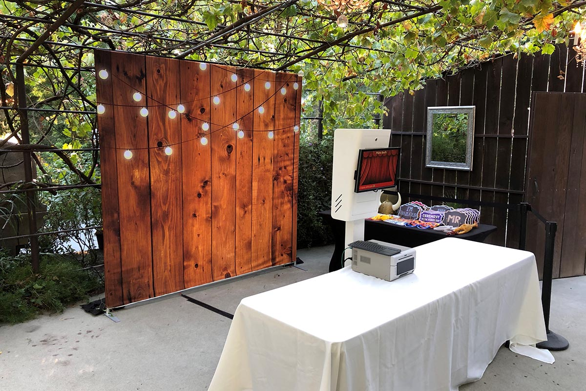 Bay Area photo booth rental