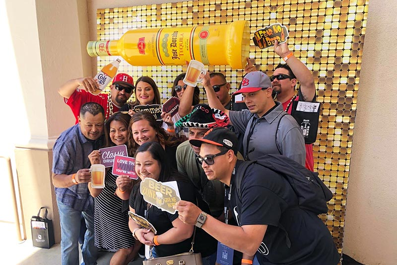 corporate event photo booth in the Bay Area