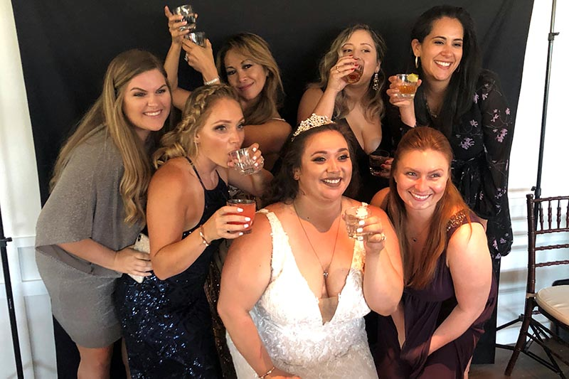 wedding photo booth in the Bay Area